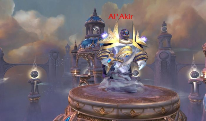 Al'akir a Cataclysm boss that drops battle pet.