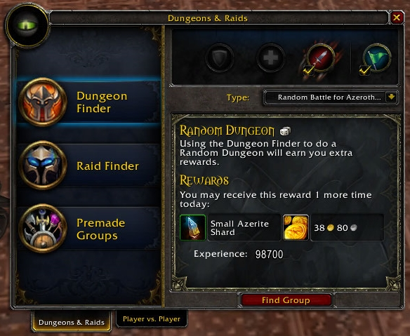 Random Dungeon Finder - an impactful feature on World of Warcraft Social Experience
