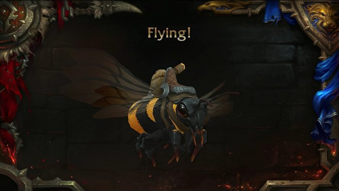 Bee mount coming in 8.2.5