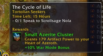 Tortollan Seekers written under World Quest name