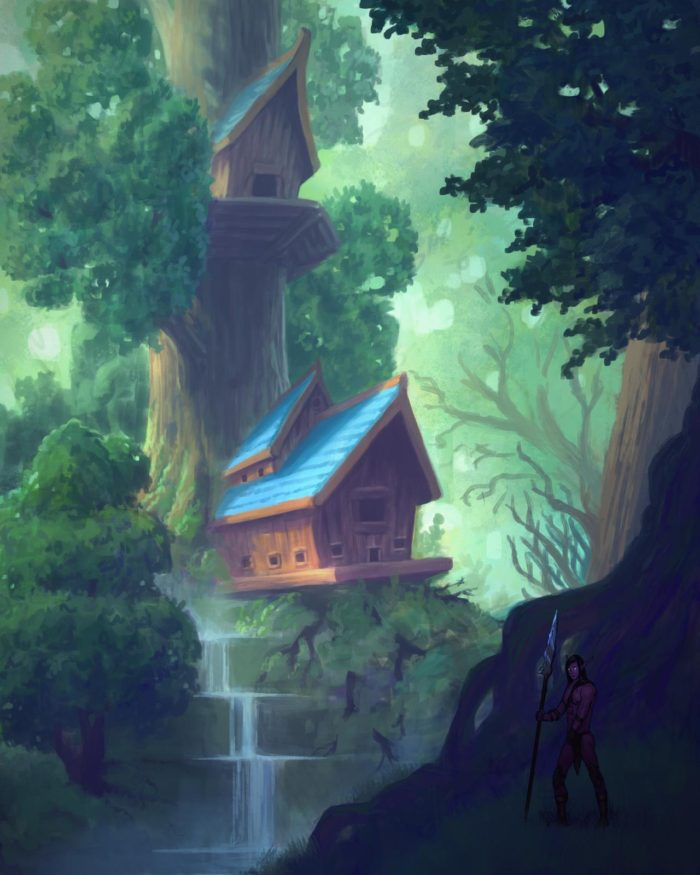 Artwork of Ashenvale House
