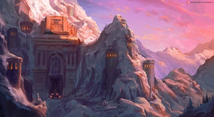 Artwork of Ironforge