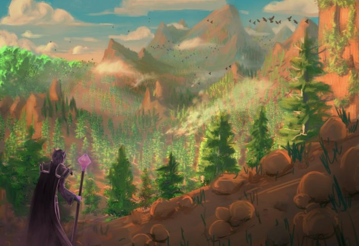 Artwork of Stonetalon Mountains