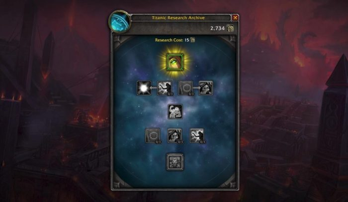 Titan research tree coming in Patch 8.3