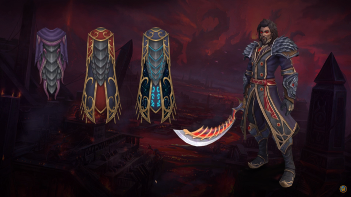 Legendary cloaks coming in Patch 8.3