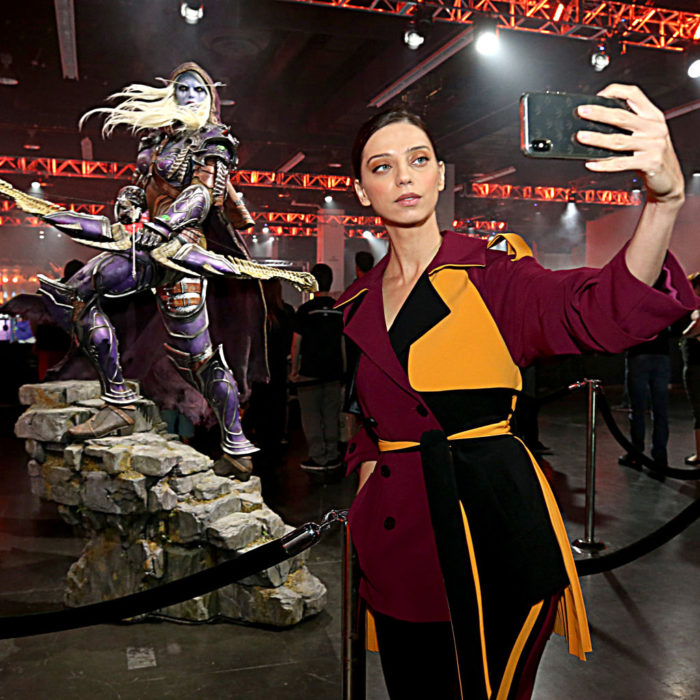 Angela Sarafyan at Blizzcon, A celebrity of WoW