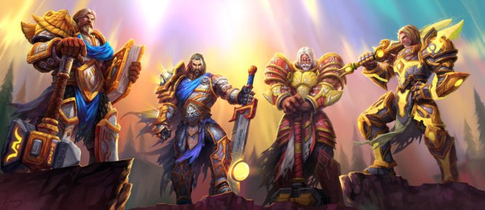 Knights of the Silver Hand - Uther, Tirion, Saidan, Turalyon