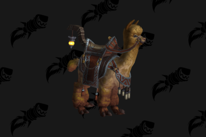 Reins of the Springfur Alpaca Mount