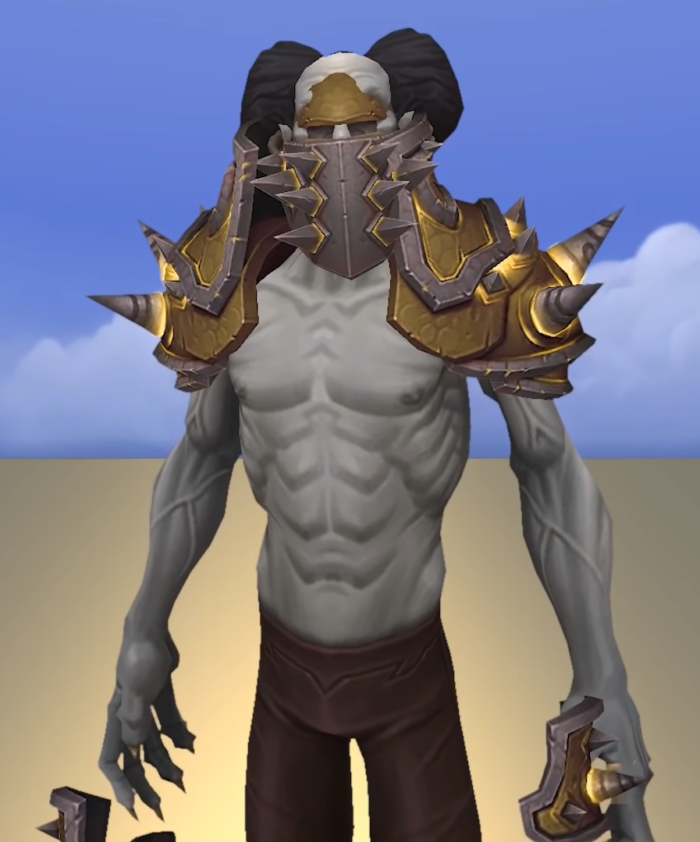 Venthyrs, possible Allied race in Shadowlands, in Armor